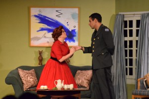 The Telephone: Lucy (Jodi Edwards) & Ben (Frank Capitanio)