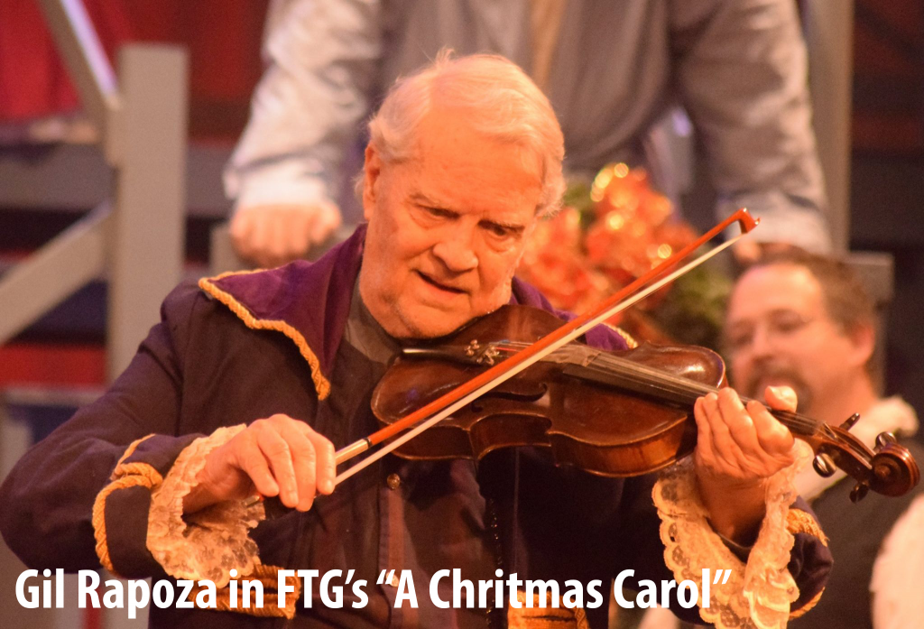 "Gil Rapoza in FTG's production of ""A Christmas Carol"""